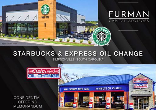 Starbucks & Express Oil Change