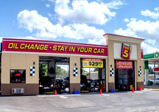 Brand New Take 5 Oil Change